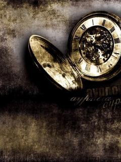 Broken Clock Mobile Wallpaper