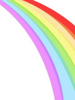 Rainbow Lines Mobile Wallpaper