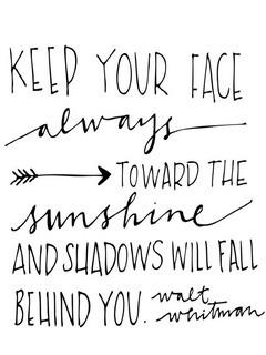 Always Toward Sunshine Mobile Wallpaper