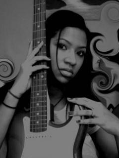 Music Guitar Girl Mobile Wallpaper