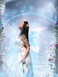 Fairy Angel Mobile Wallpaper
