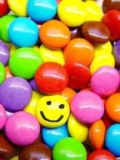 Smiley Colors Mobile Wallpaper