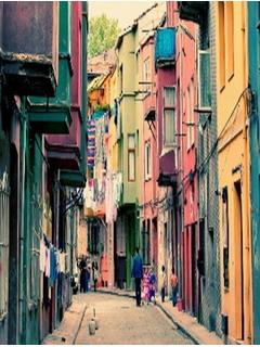 Cool Colors City Mobile Wallpaper