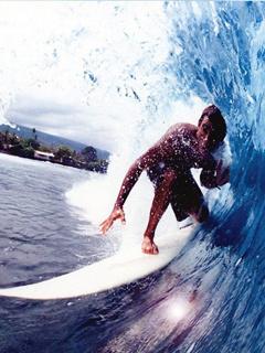 Surfing Mobile Wallpaper