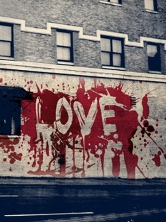 Love Wall Mobile Wallpaper