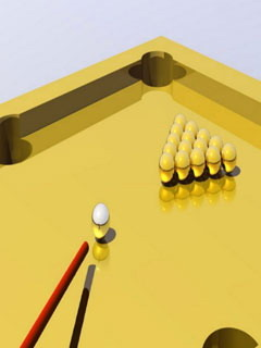 Golden Snooker Mobile Wallpaper