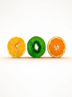 Cute Oranges Mobile Wallpaper