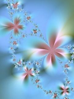 Velvet Flowers Mobile Wallpaper
