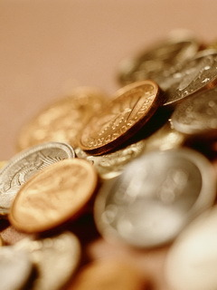 Coins Mobile Wallpaper
