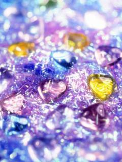 Colors Heart Mobile Wallpaper