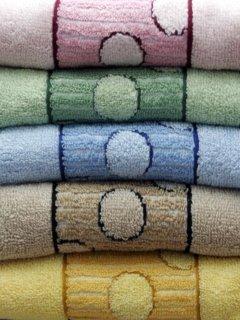 Color Towels Mobile Wallpaper