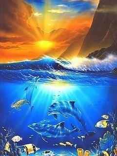 Xtreme Ocean Mobile Wallpaper