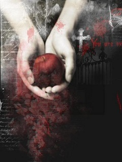 Apple Of  Death Mobile Wallpaper