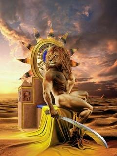 Lion The King Mobile Wallpaper