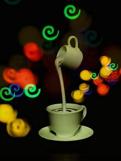 Making Tea Mobile Wallpaper