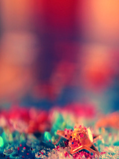 Abstract Colors Star Mobile Wallpaper