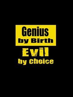 Genius By Birth Mobile Wallpaper