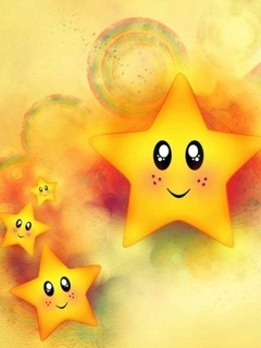 Cute Stars Mobile Wallpaper