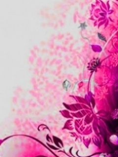 Pink Art Design Mobile Wallpaper