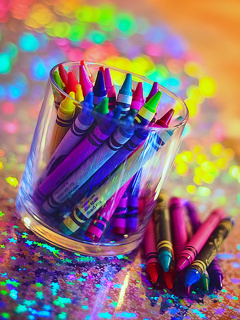 Nice Love Colors Mobile Wallpaper