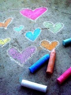Love Colors Hearts Mobile Wallpaper