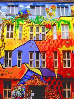 Colors Design House Mobile Wallpaper