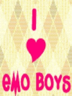 I Love Boys Mobile Wallpaper