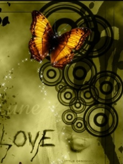 Butterfly Abstract Love Mobile Wallpaper