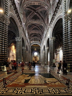 Duomo Di Sienna Italy Mobile Wallpaper