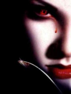 Bloody Tear Girl Mobile Wallpaper