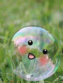 Cute Bubble Mobile Wallpaper
