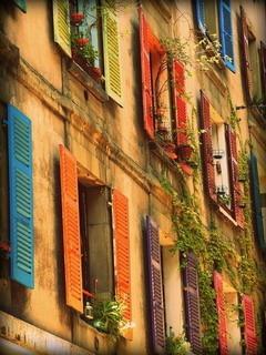 Colors Windows Building Mobile Wallpaper