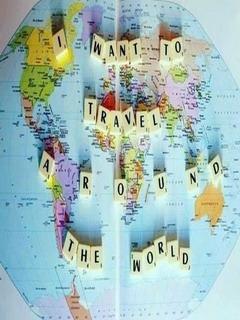 Travel Around The World Mobile Wallpaper