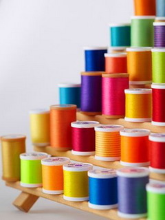Rainbow 3D Cord Mobile Wallpaper