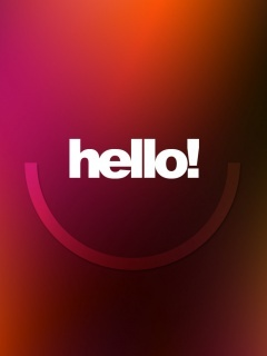 Hello Smile Please Mobile Wallpaper