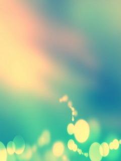 Abstract Cute Bokeh Mobile Wallpaper