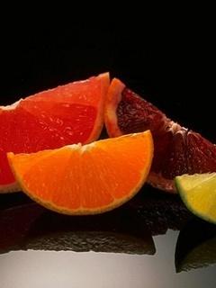 Fruits Orange Mobile Wallpaper