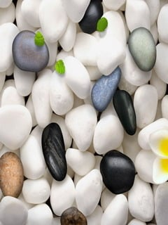 Colors Love Stones Mobile Wallpaper