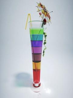 Big Cocktail Colors Glass Mobile Wallpaper