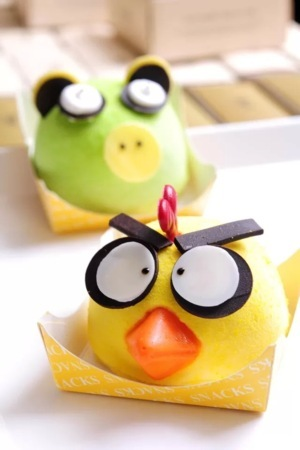 Cute Colors Angry Birds Desserts IPhone Wallpaper Mobile Wallpaper