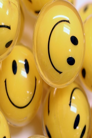 Happy Smilies For Android Wallpaper Mobile Wallpaper
