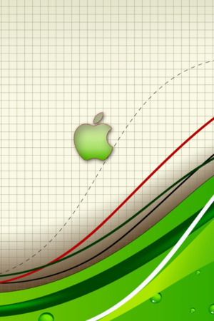 Green Abstract Apple IPhone Wallpaper Mobile Wallpaper