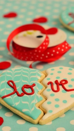 Love Sweet Heart Candy IPhone Wallpaper Mobile Wallpaper