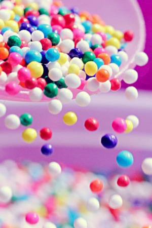 Wallpaper For Mobile colorful Love : Download Falling colorful candies Android Wallpaper Mobile ...