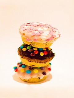 Delicious Colorful Cupcake Mobile Wallpaper