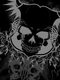 Tattoo Skull Mobile Wallpaper
