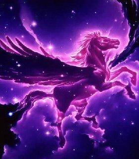 Heaven Horse Mobile Wallpaper