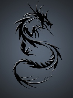 Dark Dragon Mobile Wallpaper