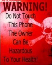 Warning Mobile Wallpaper