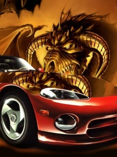 Dragoncar Mobile Wallpaper